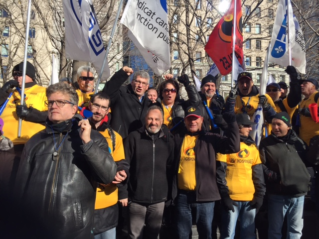 Manifestation mtl front commun 17nov2015 14 ftq - Bureau commun des assurances collectives ...