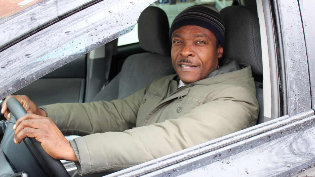 Wilson Jean-Paul, chauffeur et propriétaire de taxi.