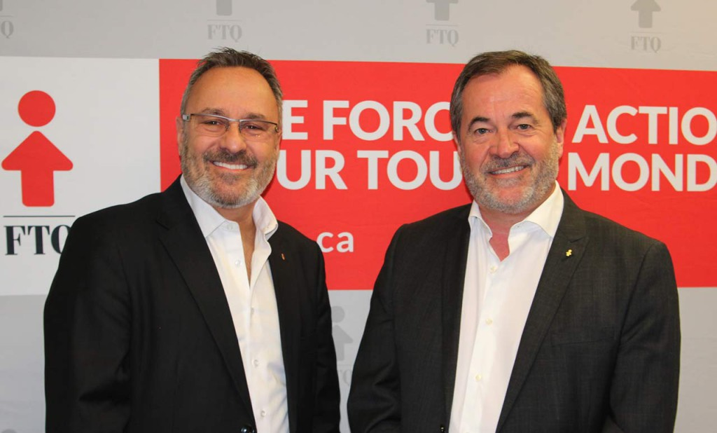 Par Daniel Boyer et Serge Cadieux, respectivement président et secrétaire général de la FTQ