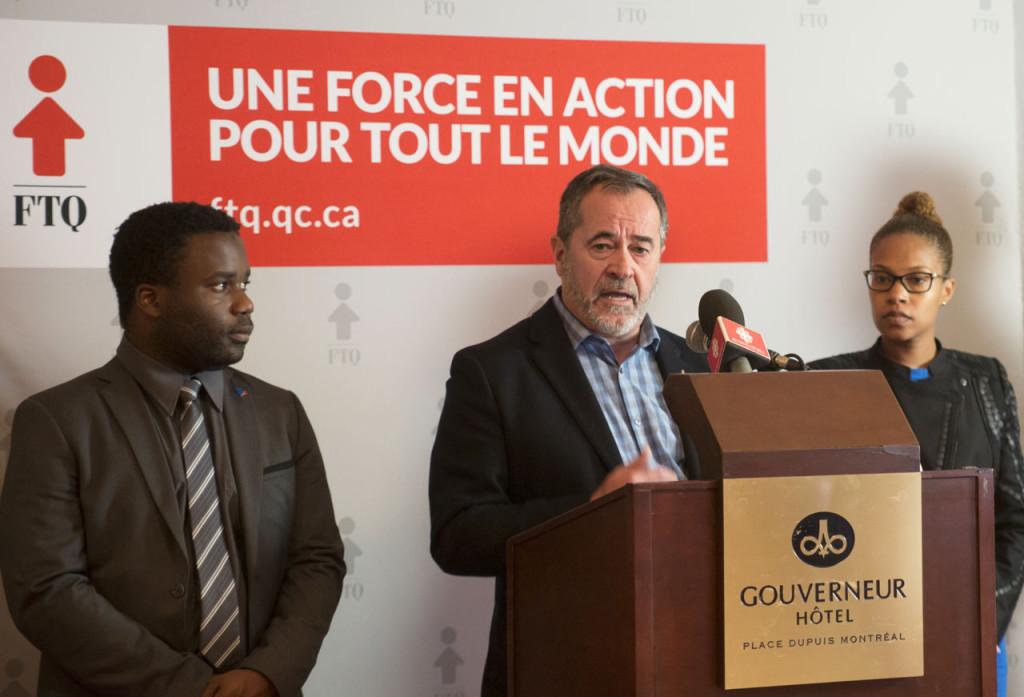 En conférence de presse le 23 octobre 2016, la FTQ, la Commission-Jeunesse du PLQ et Force Jeunesse demandaient la fin des clauses de disparité de traitement