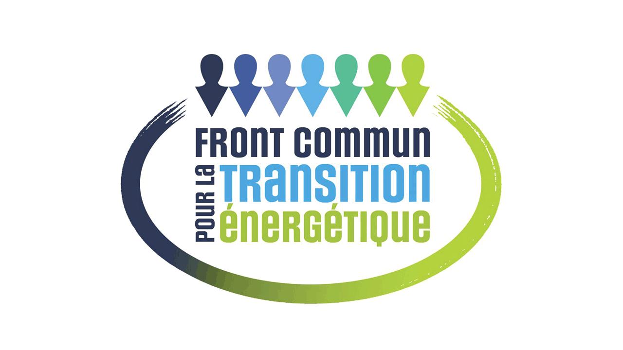 Logo du Front commun pour la transition énergétique