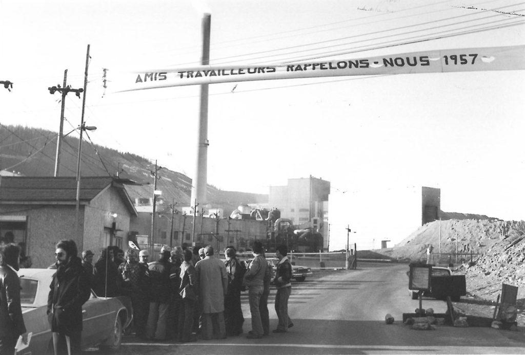 Grève de Murdochville