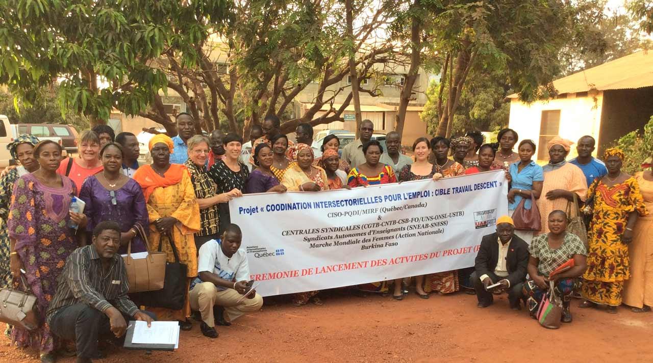 Le CISO au Burkina Faso