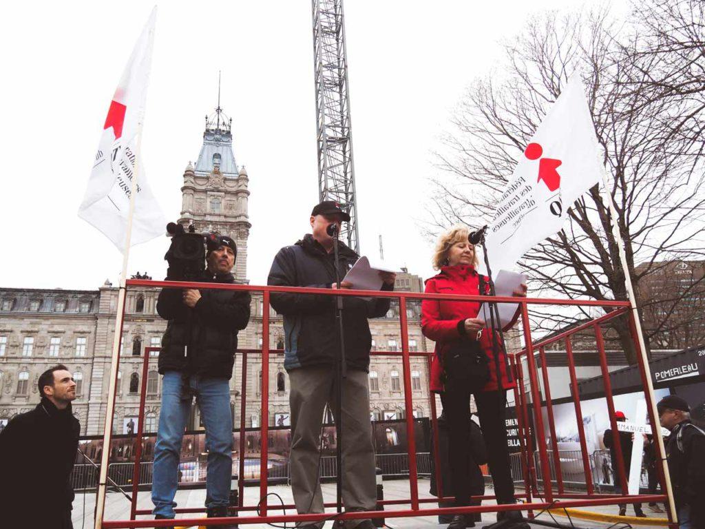 Jour commémoratif des personnes décédées ou blessées au travail 2017