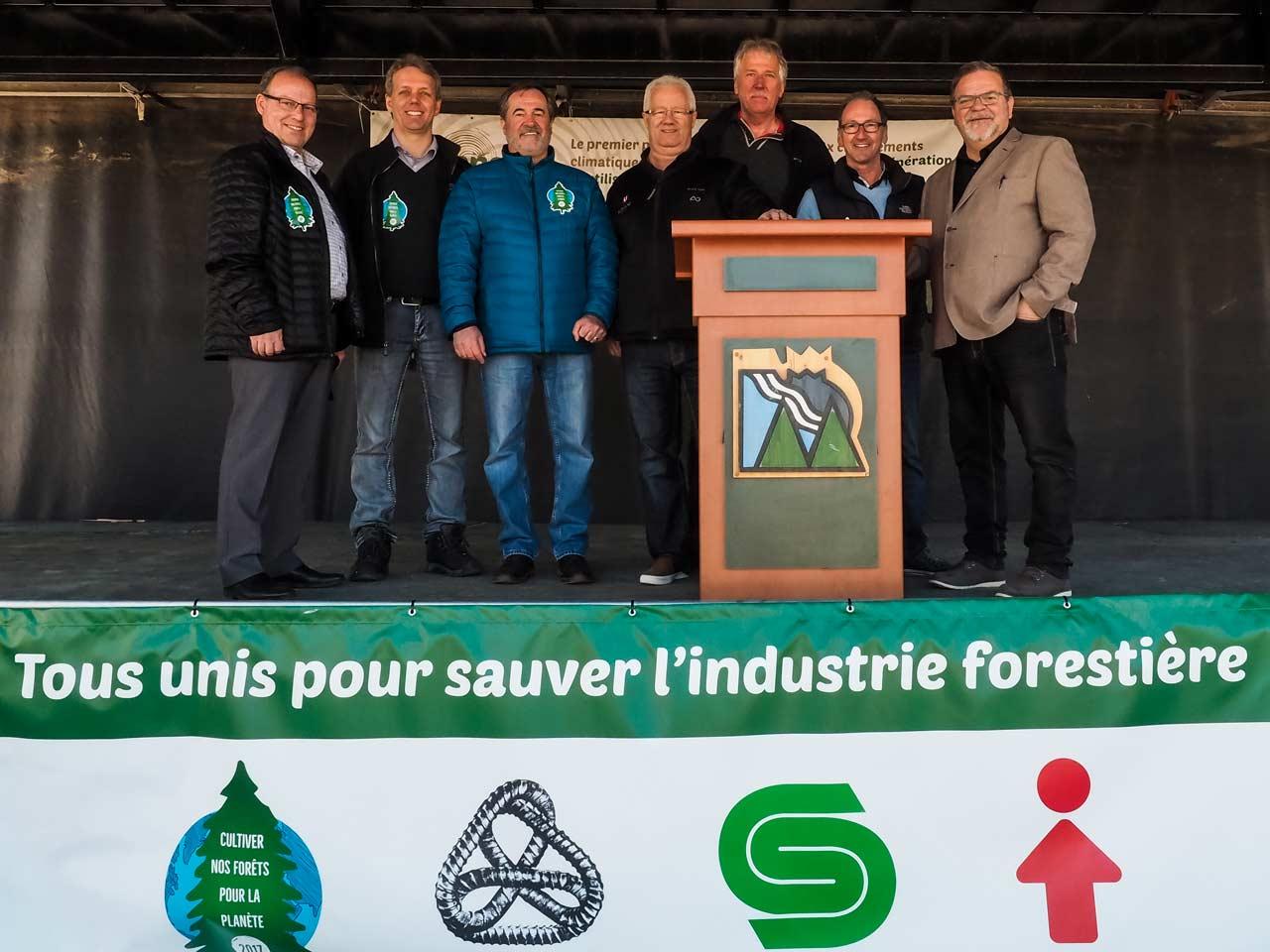 Grande marche forestière de Dolbeau-Mistassini le 30 avril 2017
