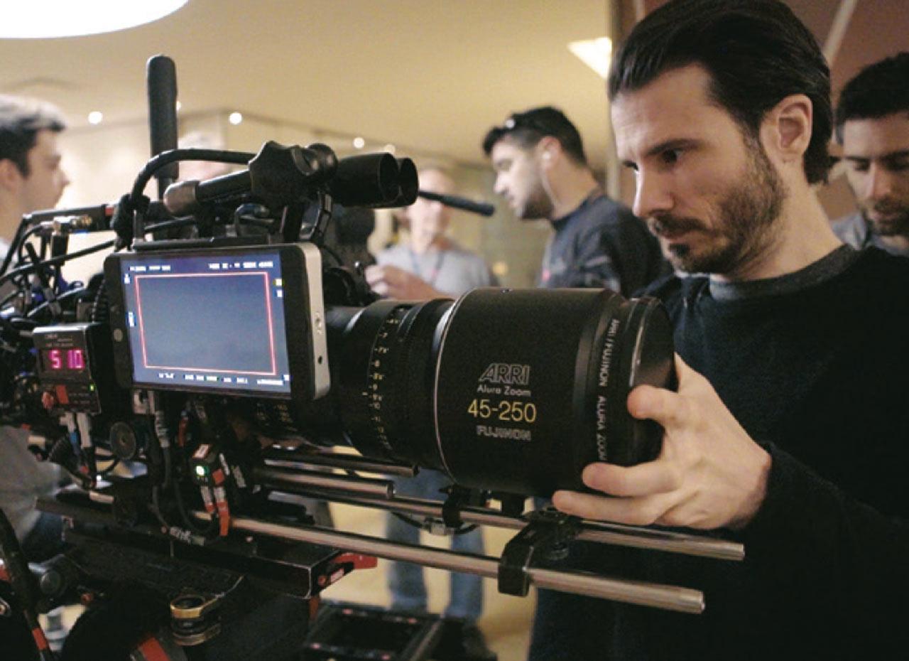 Maxime Gagnon, premier assistant à la caméra