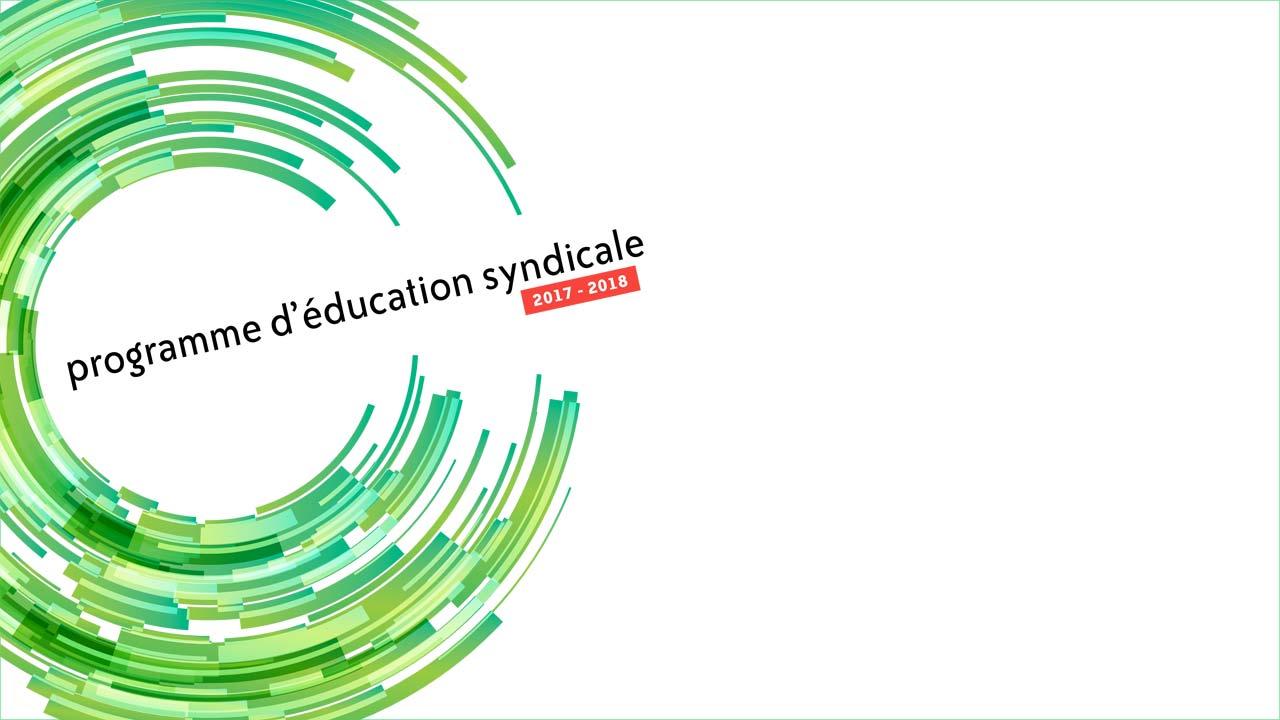 Programme d'éducation 2017-2018