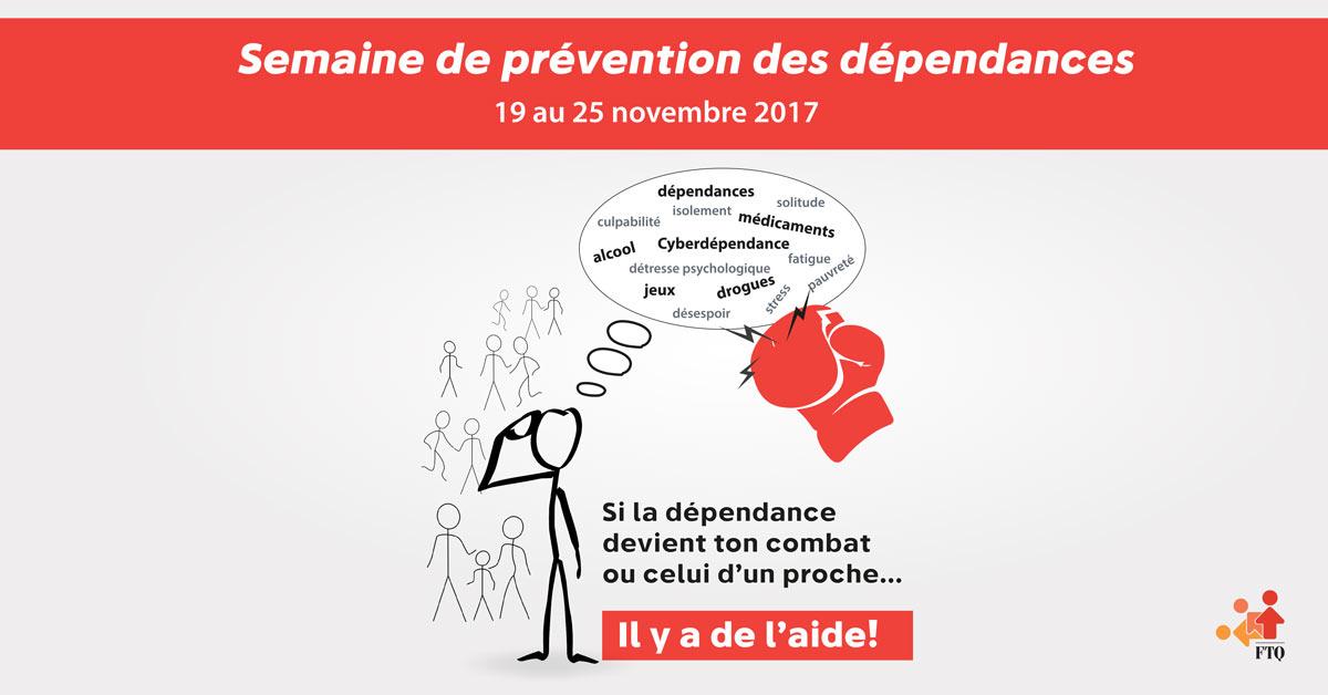 Semaine de prévention des dépendances 2017