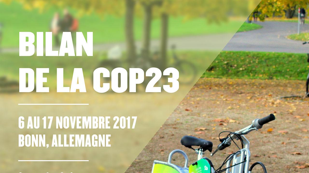 Bilan de la COP23