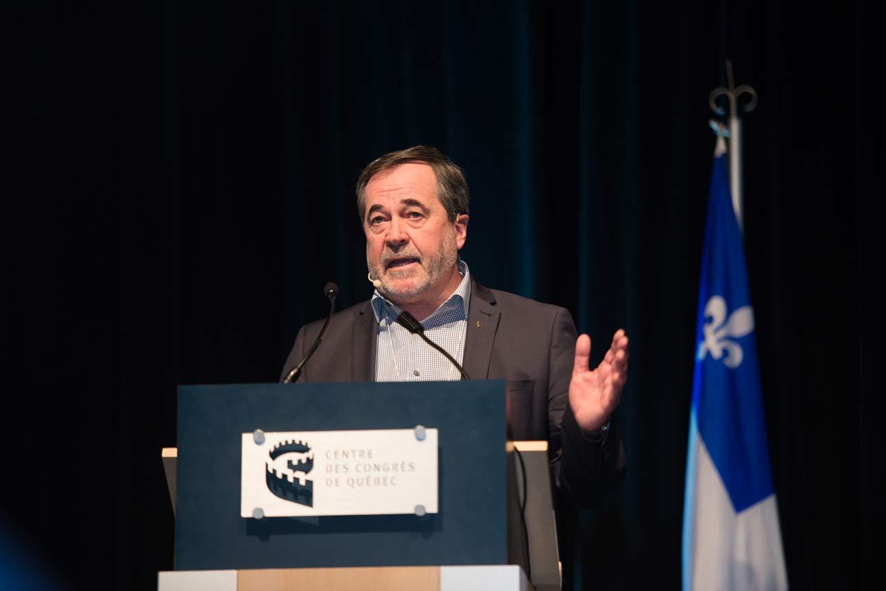 Présentation du secrétaire général de la FTQ, Serge Cadieux, au symposium «Prévenir le tsunami numérique: un défi pour l'emploi dans la Capitale-Nationale» - 31 janvier 2018