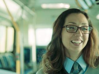 Métier: chauffeuse d'autobus