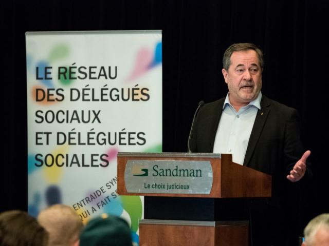 Conférence nationale du réseau des délégués sociaux et déléguées sociales de la FTQ 2018