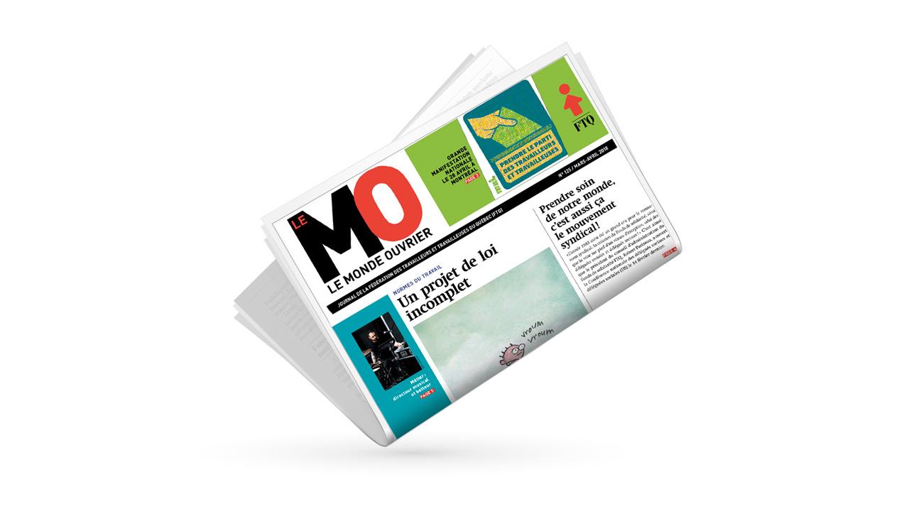 Monde ouvrier, no 125 (mars-avril 2018)