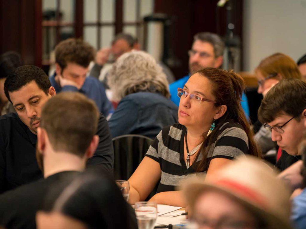 Les militants et militantes de la FTQ rencontrent les députés de l'Assemblée nationale du Québec pour les sensibiliser à leurs préoccupations