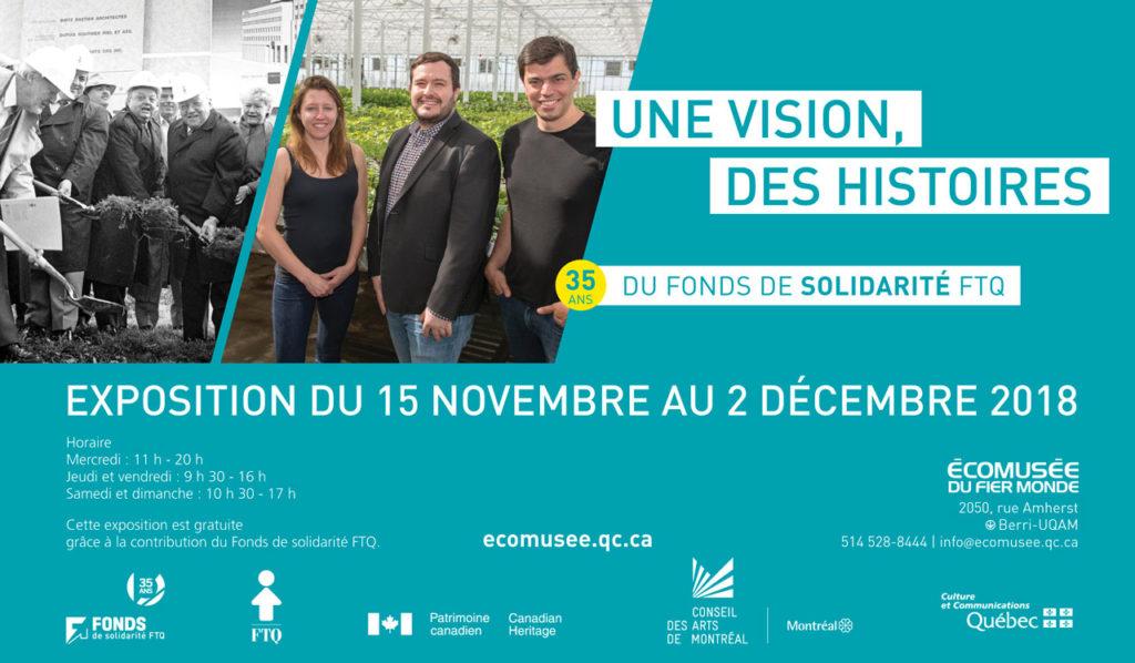 Une vision, des histoires – 35 ans du fonds de solidarité FTQ