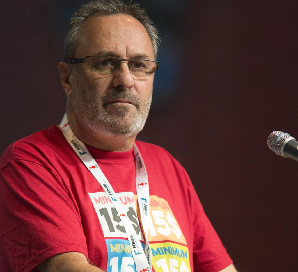 Daniel Boyer, président de la FTQ