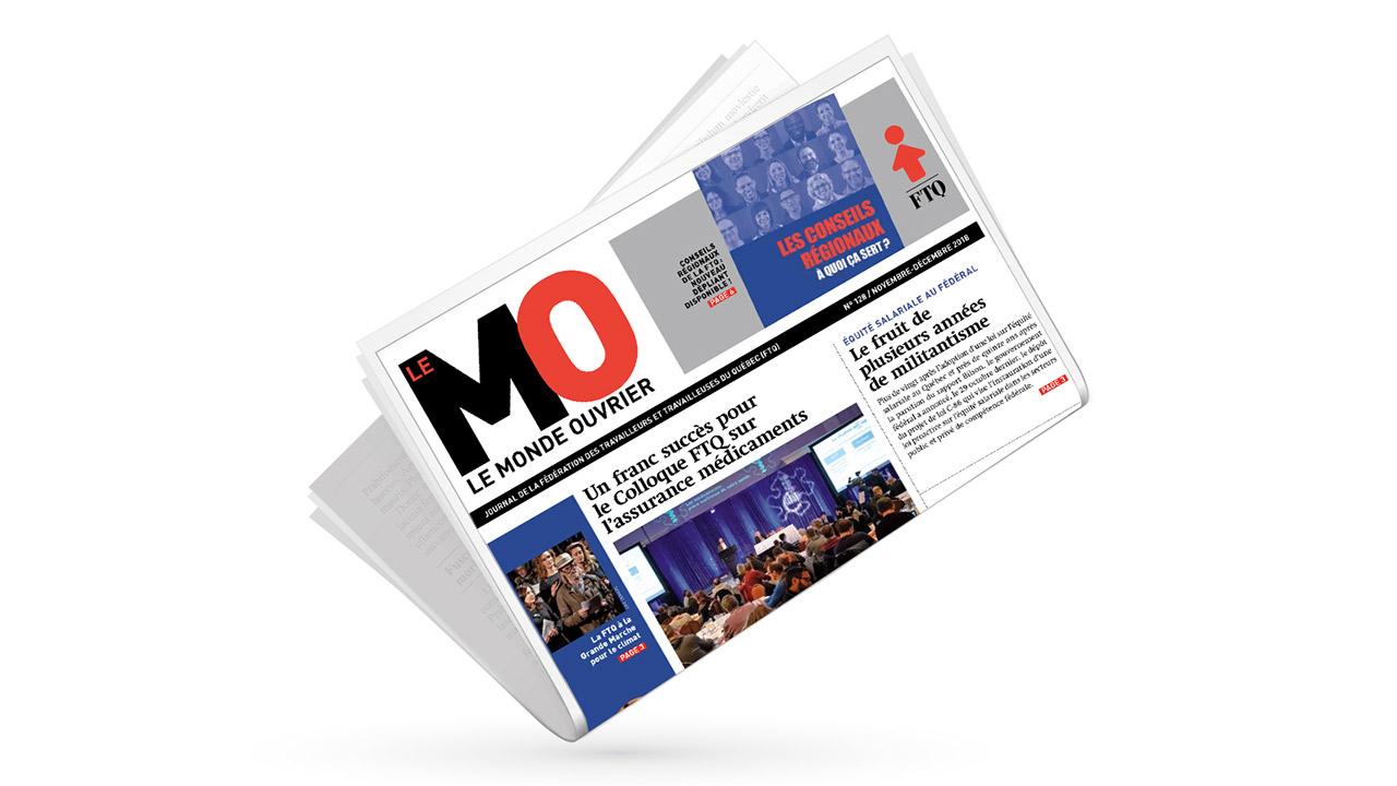 Monde ouvrier, no 128 (novembre-décembre 2018)