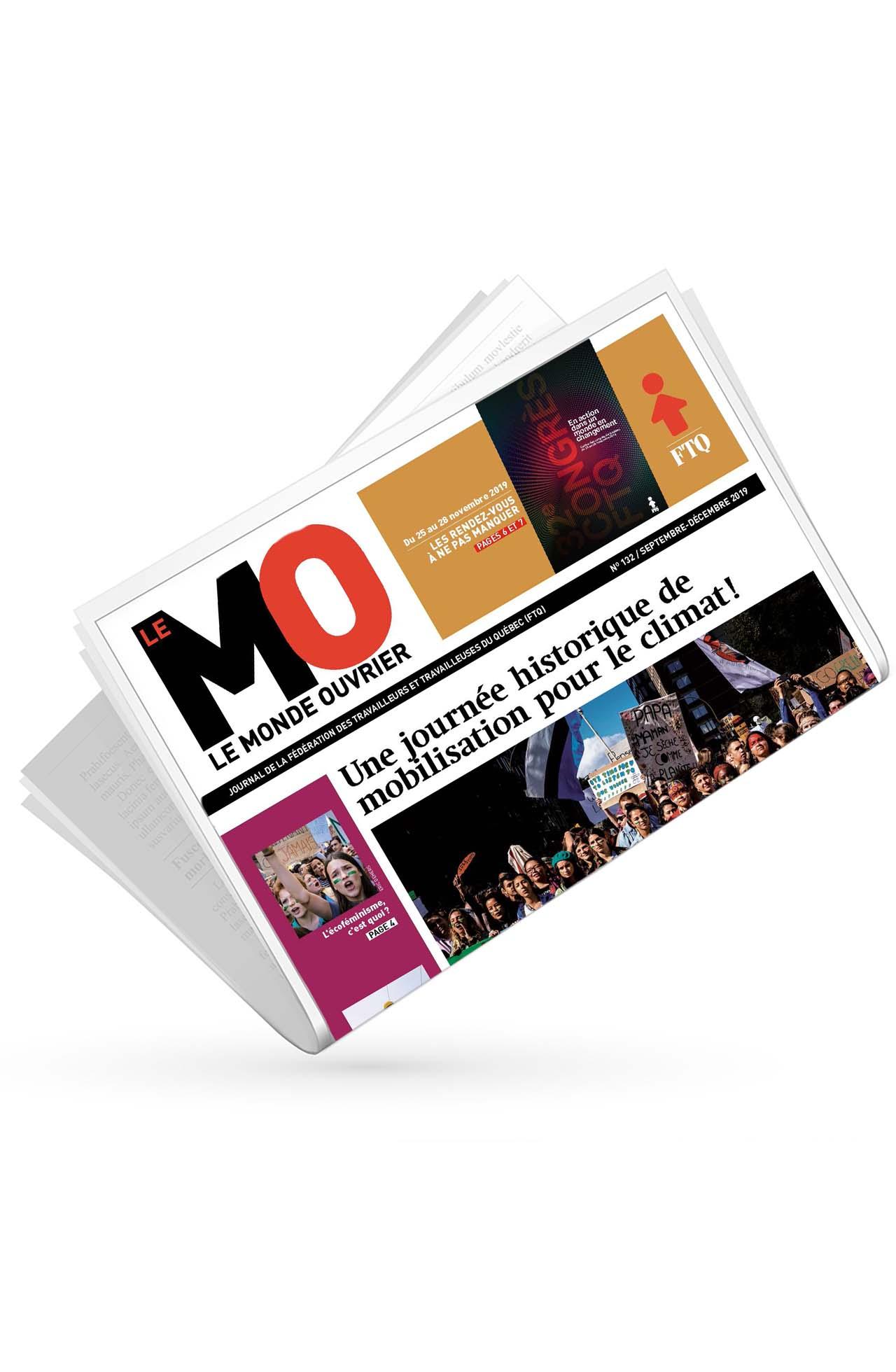 Monde ouvrier No 132 (septembre-décembre 2019)