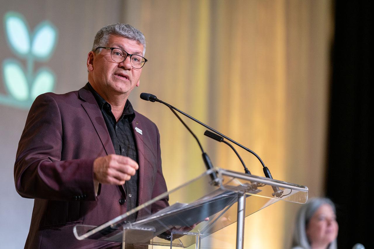 Denis Bolduc, secrétaire général de la FTQ