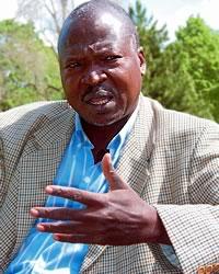 Secrétaire général de l'UST depuis 1991, Djibrine Assali Hamdallah est formateur pour la FTQ en Afrique francophone. (Photo : Serge Jongué)