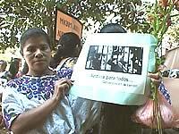 Manifestation pour les droits démocratiques et sociaux au Guatemala