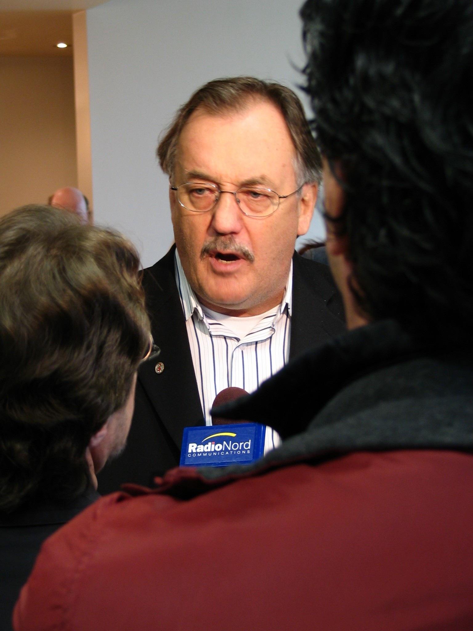 Photo de Henri Massé, président de la FTQ
