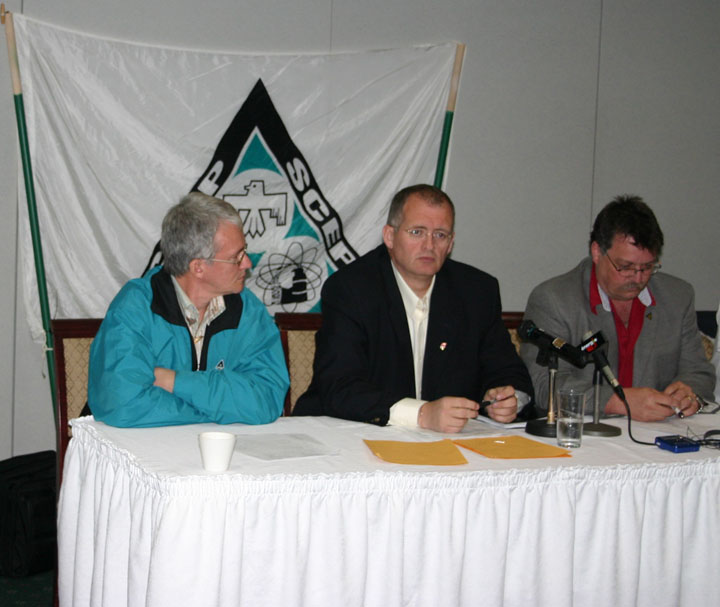 image de la conférence de presse