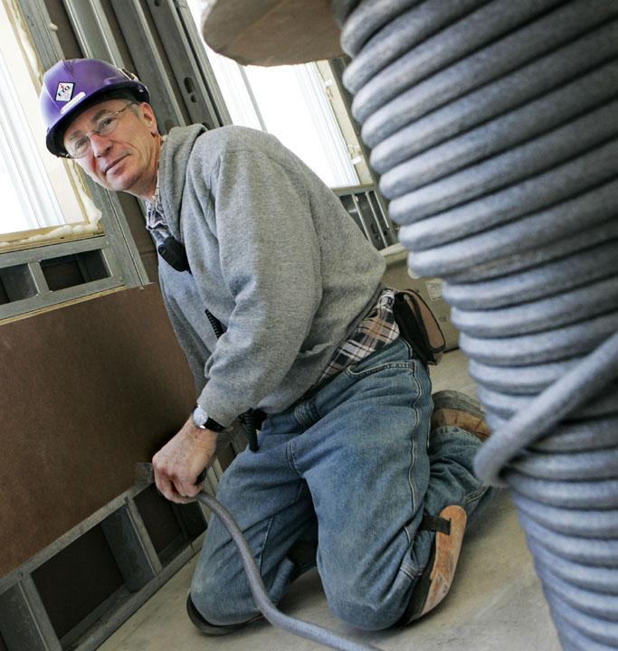 Photo d'un travailleur de la FTQ-Construction