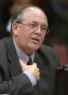 René Roy, secrétaire général de la FTQ. <br> <br><i>Photo archive Didier Debusschère</i>