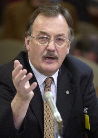 Le président de la FTQ, M. Henri Massé <br> <br>Photo Didier Debusschère