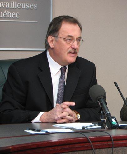 Henri Massé président de la FTQ
