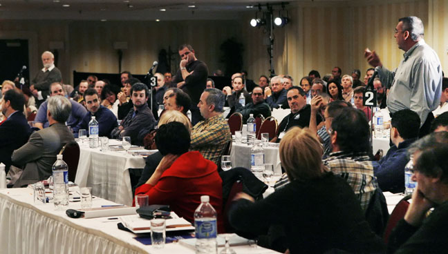 Photo du panel des journées de réflexion sur l'emploi de la FTQ.