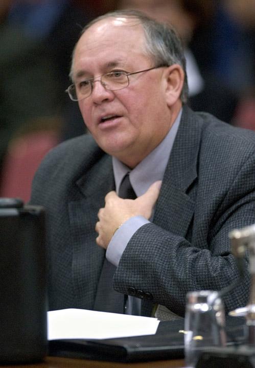 Photo du secrétaire général de la FTQ, René Roy