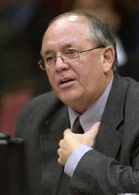 René Roy, secrétaire général de la FTQ <br> <br><i>Photo Didier Debusschère</i>