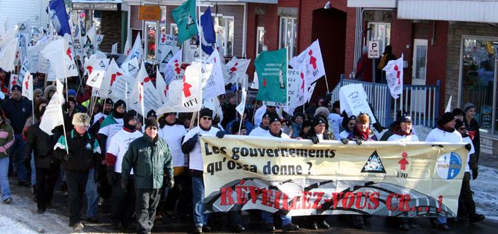 Photos de la manifestation