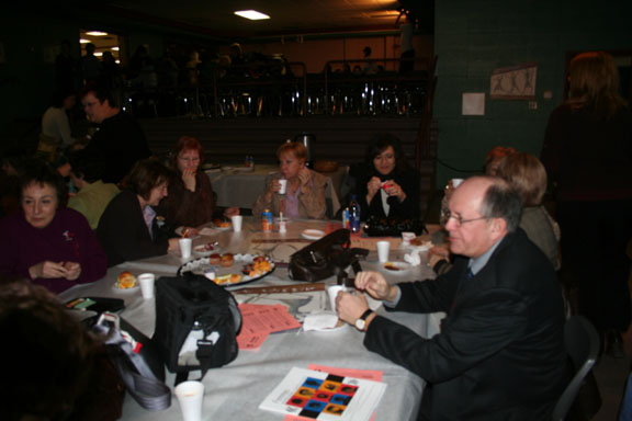 Photos du petit déjeuner du Colllectif du 8 mars
