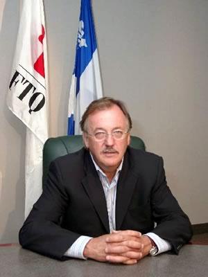 Henri Massé, président de la FTQ et du conseil d'administration du Fonds de solidarité FTQ