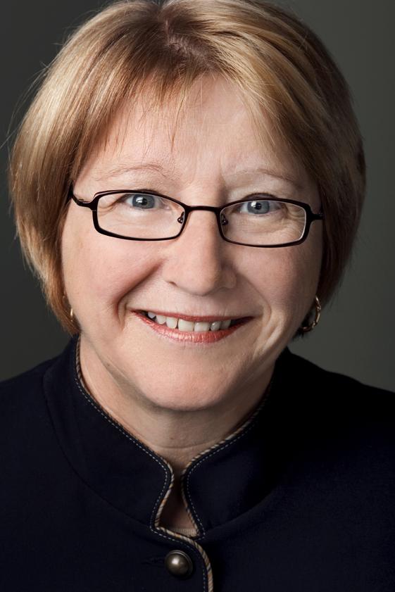 Photo de la vice-présidente de la FTQ, Johanne Vaillancourt
