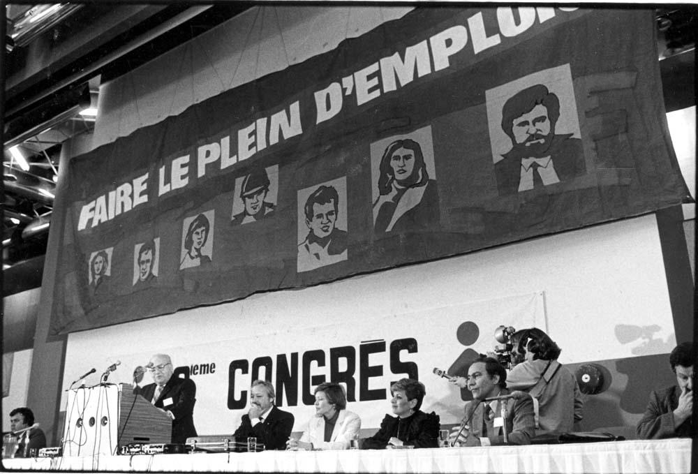 1983. 18 e Congrès. « Faire le plein d'emplois ».