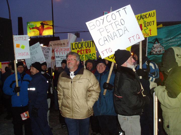 Photos de la manifestation.