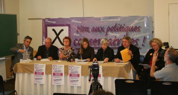 Photo de la conférence de presse