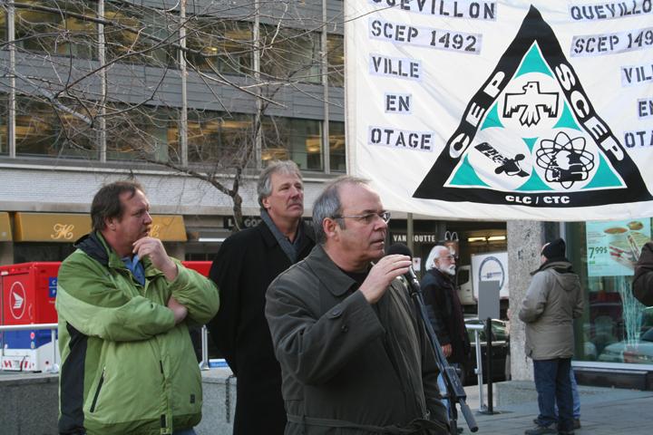 Photo de la manifestation