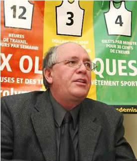 René Roy, secrétaire général de la FTQ <br><i>Photo Serge Jongué