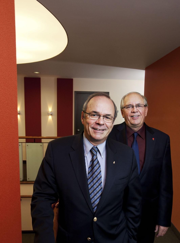 Photo de Michel et René