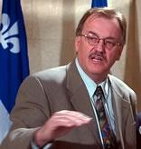 Henri Massé, président de la FTQ <i>(photo archive : Didier Debusschère)