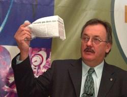 Henri Massé, président de la FTQ <i>(Photo: Serge Jongué)