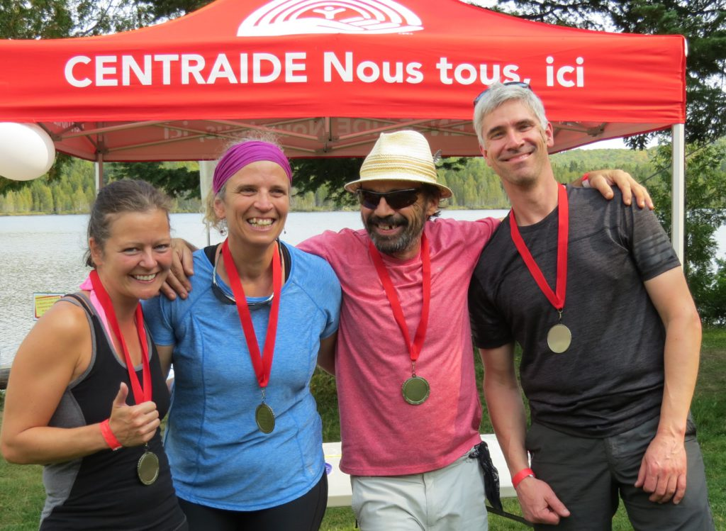Équipe gagnante - Journée Défi Centraide FTQ
